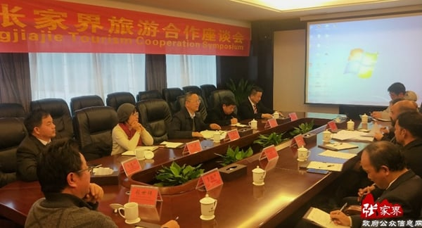 India-Zhangjiajie Travel Cooperation Symposium Was Held